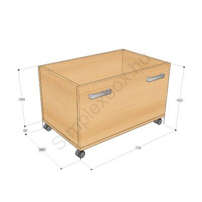 KATA1250AK Kata 3 polcos 1 ajtós szekrény