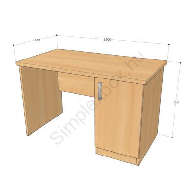 nevelői íróasztal
